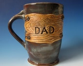 READY TO SHIP  Rustic Mug for Dad -  - Great gift for someone in construction or carpentry