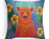 Moon Bear: Original Art Cushion