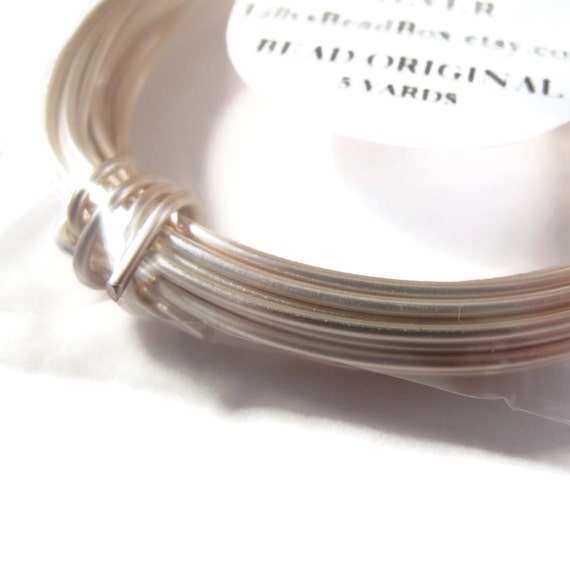 Silver Plated Wire 16 Gauge Round Wire For Making Jewelry