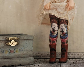 Fawn and Father Blythe Doll Stockings