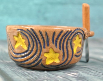 Starry Night Dip Bowl