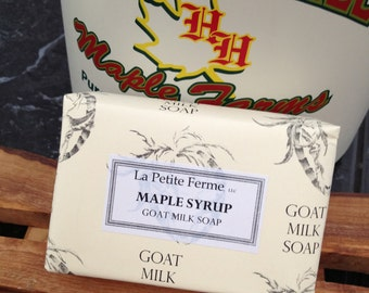 Milk and Maple - Maple Syrup goat milk soap