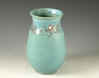 Flower Vase - hand thrown stoneware pottery
