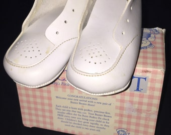 Vintage Buster Brown Baby Shoes