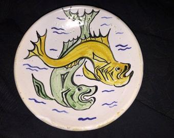 Lagoa S Miguel Fish Plate