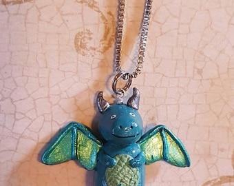 Happy Dragon Necklace
