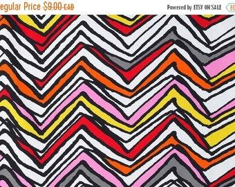 SALE - Chevron - IKEA Lyndby Cotton Fabric