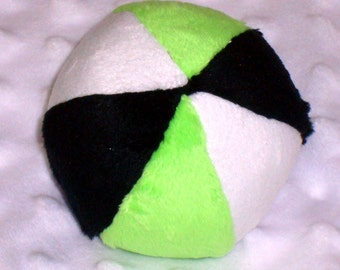 Dog Ball - Dog toy - Squeaker Ball - Squeaker Ball Toy for Dogs - Ball with Rattle for Baby - Minky Ball