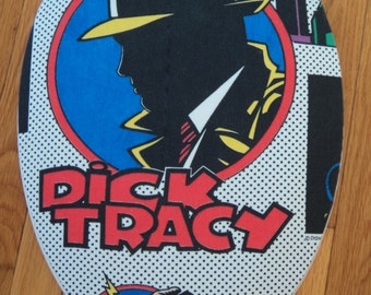 Dick Tracy Logo  Toilet Seat Cover