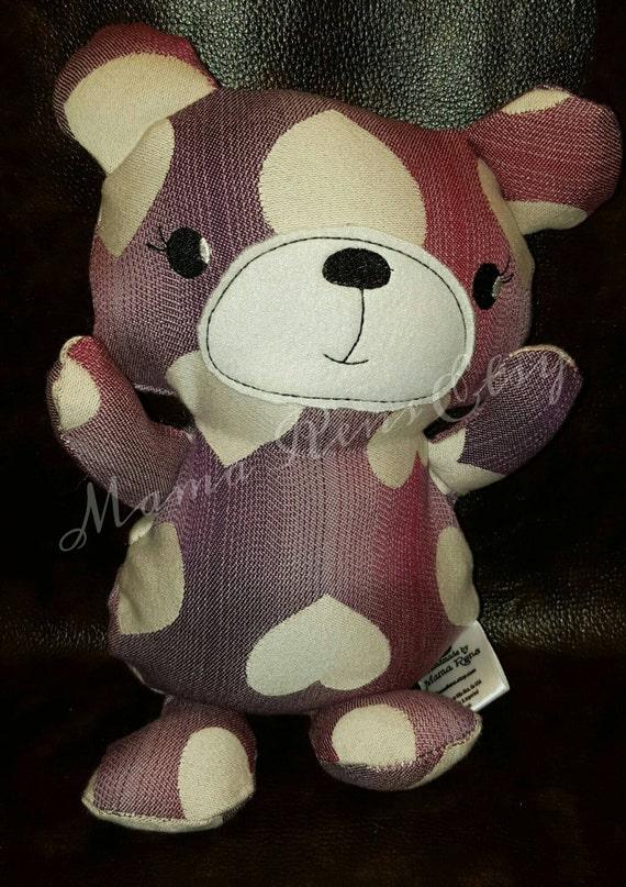 READY To SHIP Tula Love Soigne wrap scrap Teddy Bear