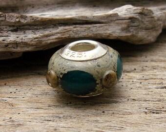 LARGE HOLE Bead - Handmade Lampwork Large Hole Bead - 1 Bead - #2