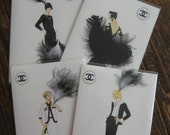 Coco Chanel Best sellers 5x7 notecards