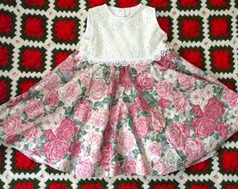 Pink Rose Dress 4/5
