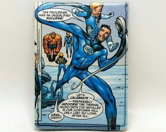 Sewn Comic Book Wallet - Fantastic Four