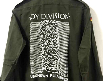 Vintage Joy Division Army Shirt