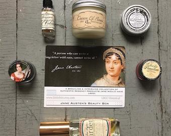 Limited Edition: Regency & Jane Austen's Beauty Box
