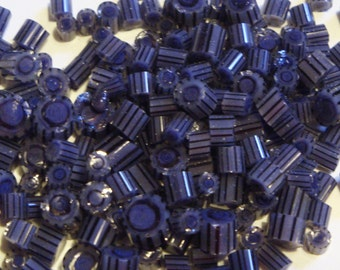 "Handmade Murrini Chips COE 104 For Lampwork Artists ""Lovely Lapis"" by Solaris Beads MB33"