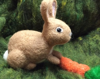 Felting Wool -Large  Rabbit Kit