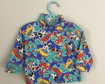 Vintage 90s NWT Baby Mickey Shirt Top Size 12 months