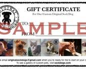 Custom Stuffed Animal - Pet Lover Gifts - Dog Gift - Cat Gift - Pet Replica - Plush Pet Portrait - Gift Certificate