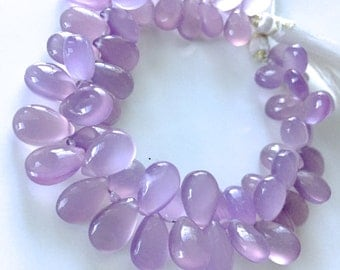 1/2 strand of purple chalcedony  WHOLESALE PRICES