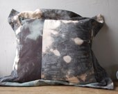 MYSTIC cushion one of a kind patchwork hand dyed