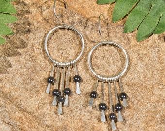 Your Choice - 5 Stone Sterling Silver Kortne Earrings