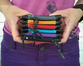 Bike Tube Bag - Inner Tube Wallet - Tiny Change Purse