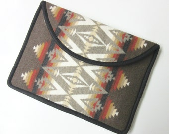 "13"" MacBook AIR or Macbook Pro RETINA Laptop Cover Sleeve Case New Blanket Wool from Pendleton Oregon"