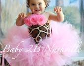 Pink Giraffe Costume Tutu...