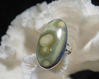 Ocean Jasper Ring Size 7