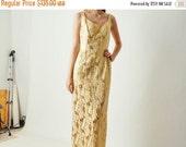 ON SALE SALE - Vintage Mr. Blackwell Custom Dress