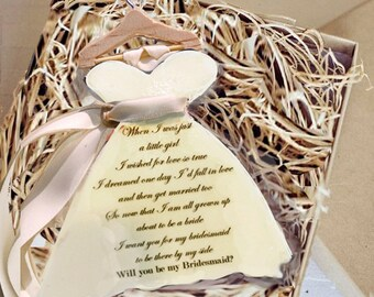 will you be my gift will you be my bridesmaid gift