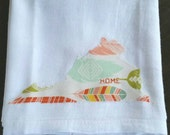 Virginia Home Tea Towel Kitchen Bath Feathers