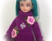 Spring into purple    ..middie Blythe .. Wanda Wonderfrog .. Oodeco Xs pure Neemo