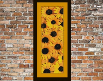Sunny Sunflowers - a counted cross stitch pattern