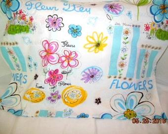 SALE    -------     Flowers  Pillowcase