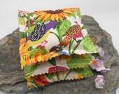 Lavender Sachets, Set of 3 - Sunflower Pattern, Thank You Gift, Teacher Gift, Party Favor, Bridal Shower, Wedding, Baby Shower, Lavender