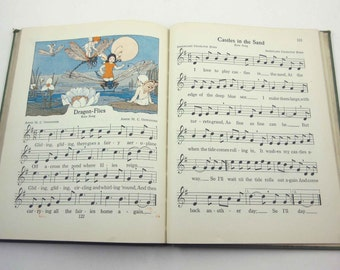 The Music Hour Third Book Vintage 1920s Children's School Song