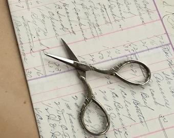 Antique Scissors Victorian Sewing Needlework