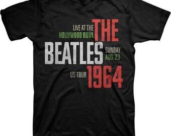 Beatles Hollywood Bowl  1964 Shirt  Sizea Large XL   Fab Four  60s music