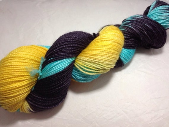 Comforts in the Dark - Dyed to Order - Hand Dyed - Merino Wool Yarn - Fingering Weight