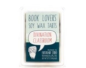 Divination Classroom - Book Candle Tart - Book Lover Gift - Scented Soy Candle Melt - Frostbeard Studio - 8oz jar