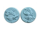Alice in Wonderland 2 Soap Mold | Soapmaking supplies | Soapmaking mold | To make soaps | Cold process soap | Melt & Pour soaps