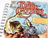 Dark Crystal Movie Journal & Sketchbook // Recycled Vintage Comic