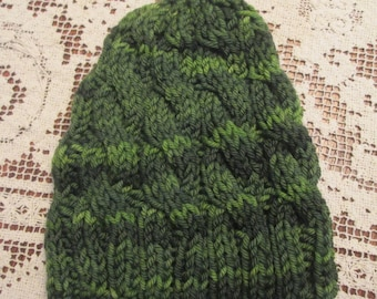 Green Cable Cap for Baby