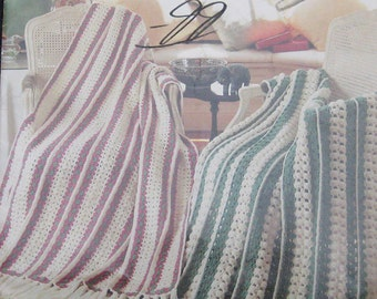 Mile A Minute Afghans Crochet Pattern Book