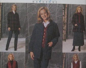 Butterick Jacket Vest Skirt Pants Pattern 4035
