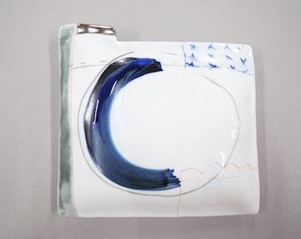 surrender - porcelain wall pillow
