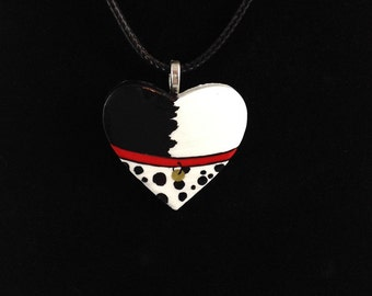 101 Dalmations Inspired Pendant